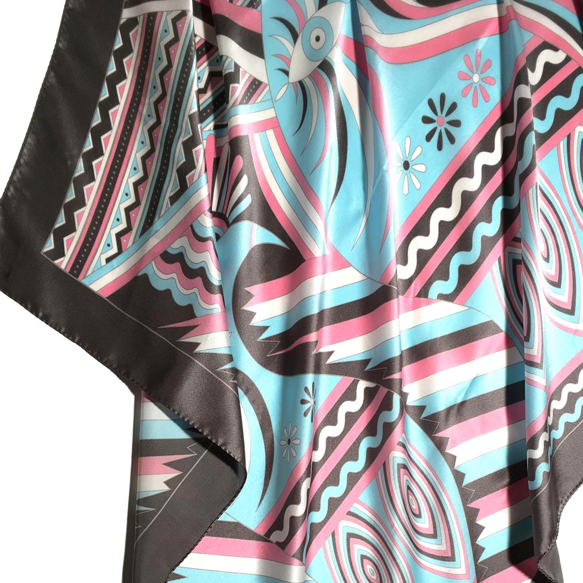 90x90cm Classic Square Scarf 100% Silk