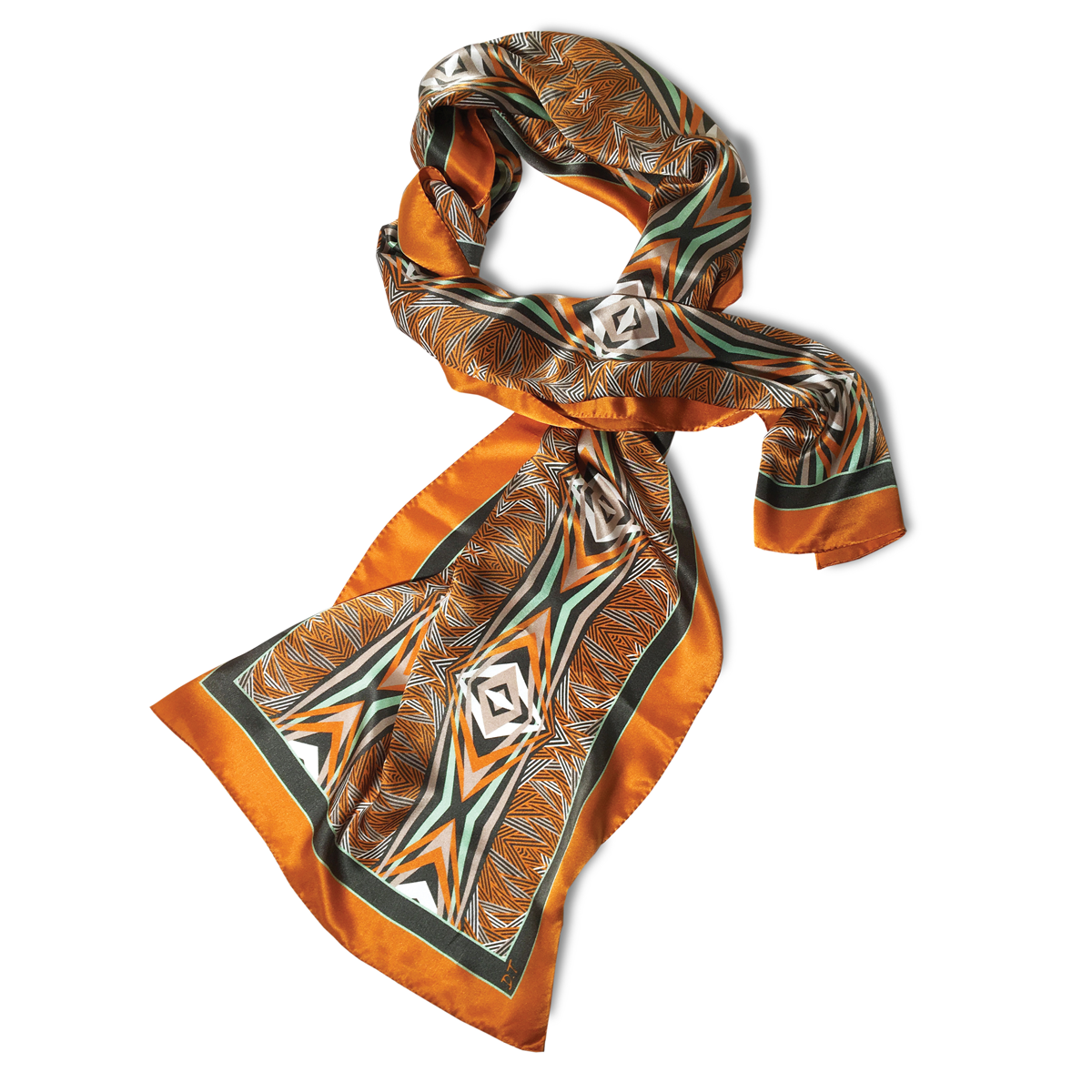 45x180cm Rectangular Foulard 100% Silk
