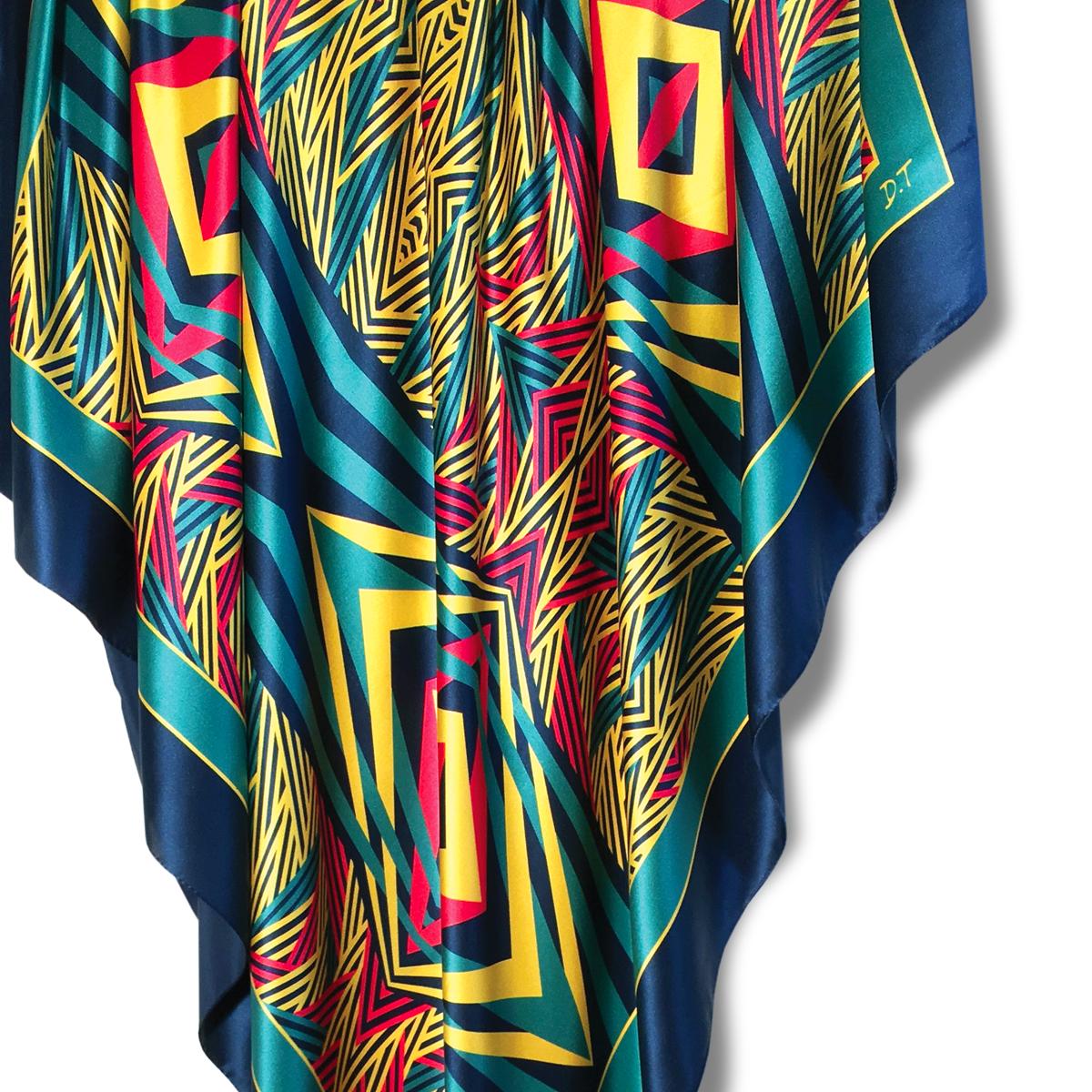 140x140cm Giant Square Scarves 100% Silk