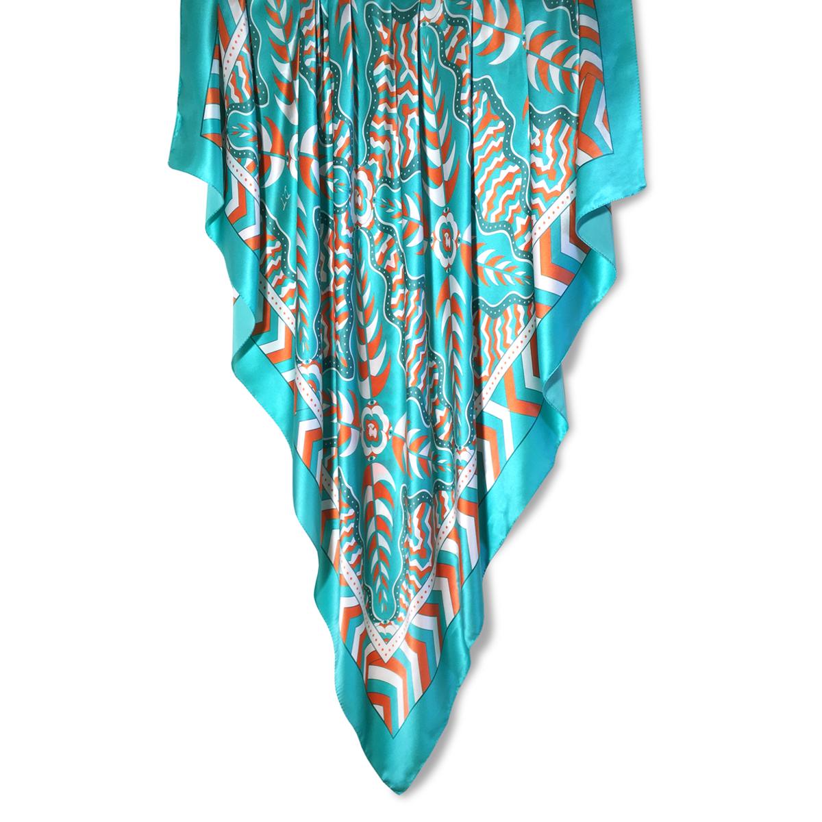 140x140cm Giant Square Scarf 100% Silk